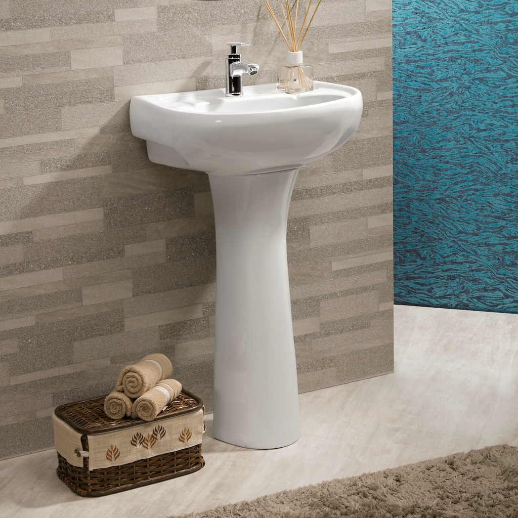 PEDESTAL BASINS Here is a beautiful range of modern, attractive design pedestal basins that are designed to deliver performance and meet your needs to! They are easy to install and available in an awesome range! A perfect match of durability and class, they come with all required hardware!