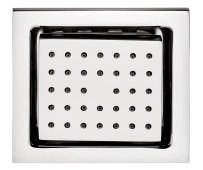 Body Jet Shower concealed type 130 x 120mm in Rectangular shape with rubit cleaning system & installation box.