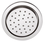 Body Jet Shower concealed type 120mm in round shape with rubit cleaning system & installation box.