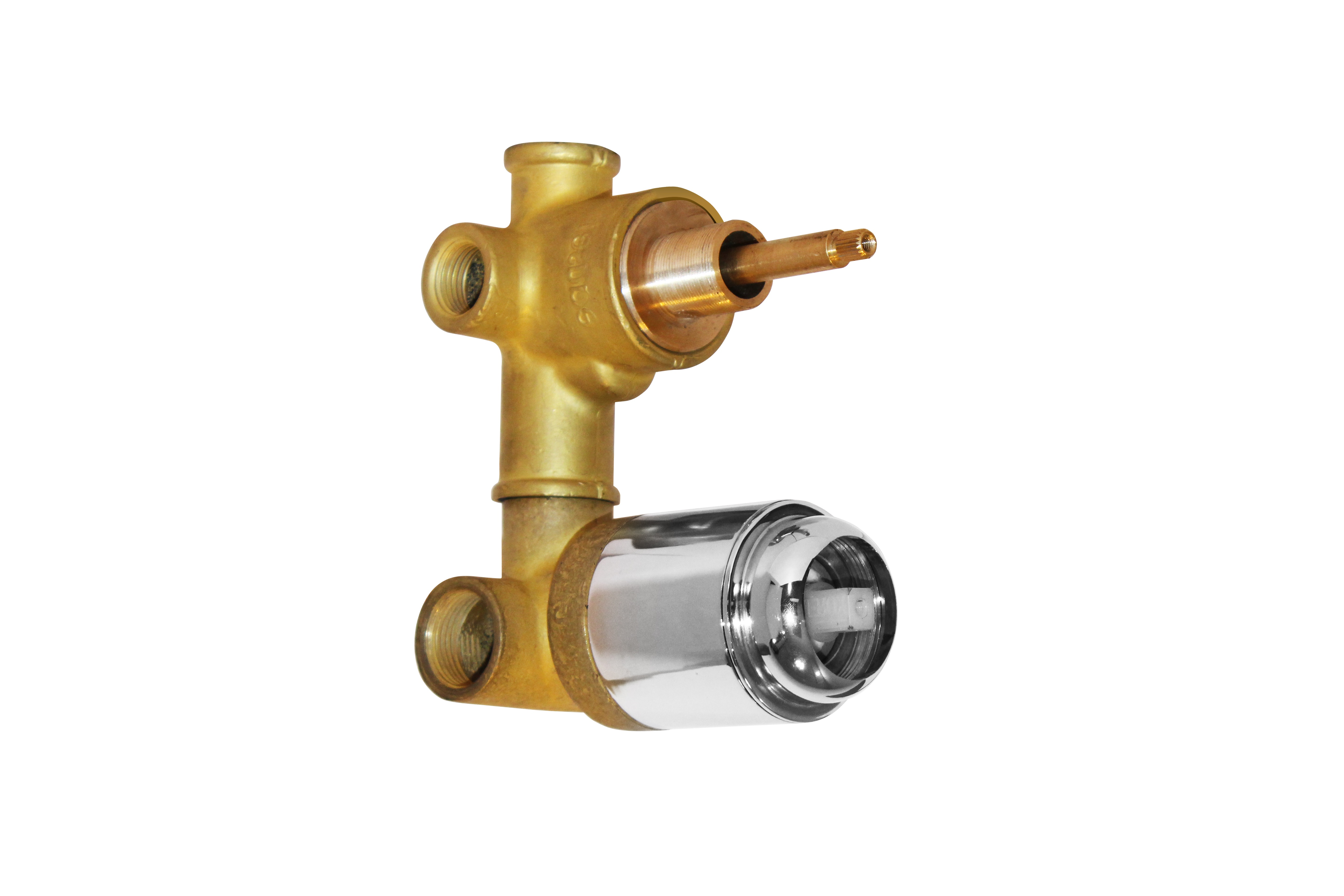 Body Part For Single Lever Concealed Divertor (High Flow ) - 2 inlet and 3 outlet