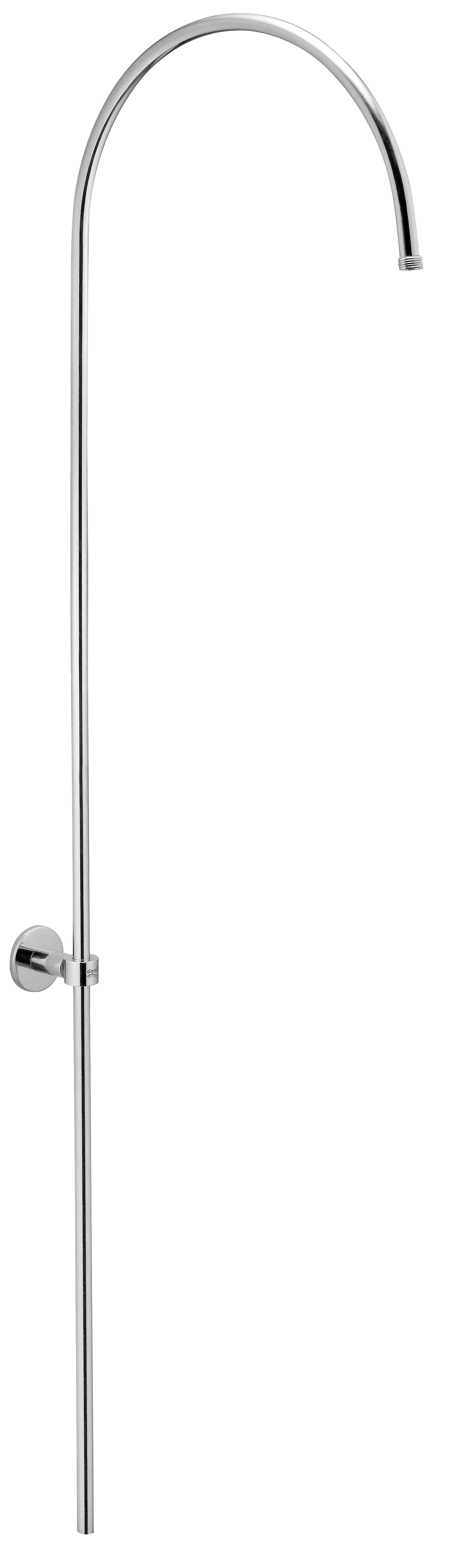 Exposed Over Head Shower Arm With Holding Bracket