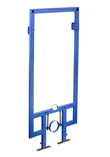 Full frame - floor mounted Blue Powder Coated