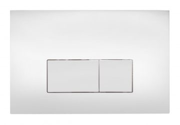 Flush Control Plate with rectangular Button