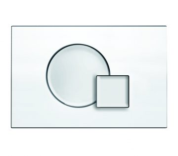 Flush Control Plate with Q- Button mechanical