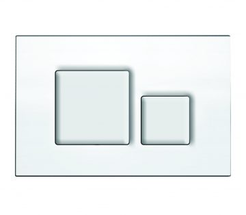 Flush Control Plate with Square Button mechanical