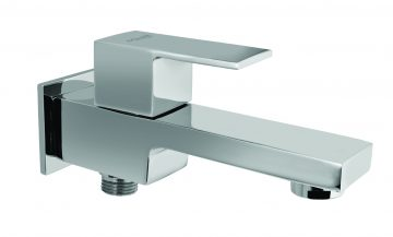 Two Way Bib Cock In single Control With Wall Flange