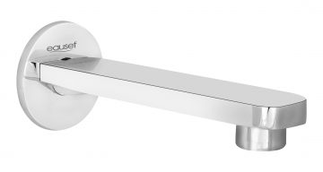 Bath spout with wall Flange