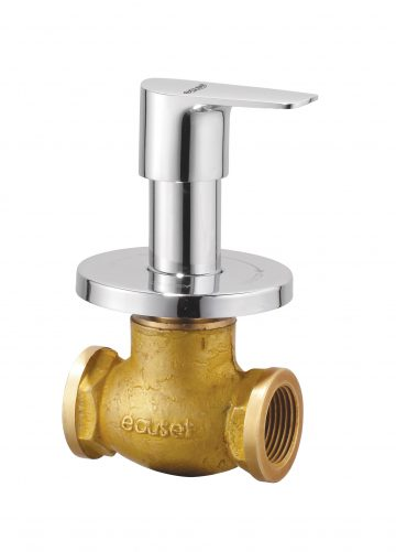 Concealed Stop Cock – 25mm With Wall Flange