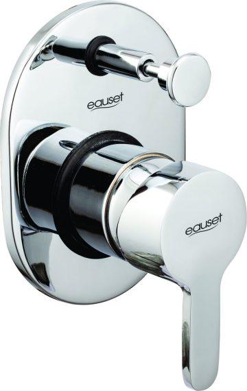 Lever & Flange For Single Lever Concealed Divertor Normal For Bath & Over Head Shower System