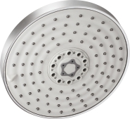 Over - Head Shower With 3 Functions - Ø150 mm With On/Off Function With Rubit Cleaning System