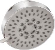 Over - Head Shower With 5 Functions - Ø100mm With Rubit Cleaning System