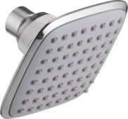 Over - Head Shower In Single Function - 100 X 100mm With Rubit Cleaning System
