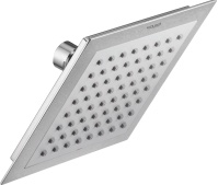 Over - Head Shower In Single Function - 150 X 150 mm With Rubit Cleaning System