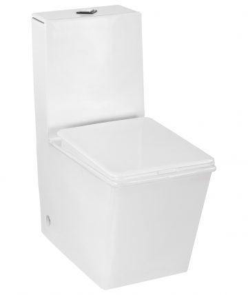 EWC - One Piece Closet with Seat Cover  (S Trap- 300 MM)