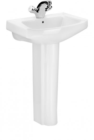 Wash basin with Full Pedestal